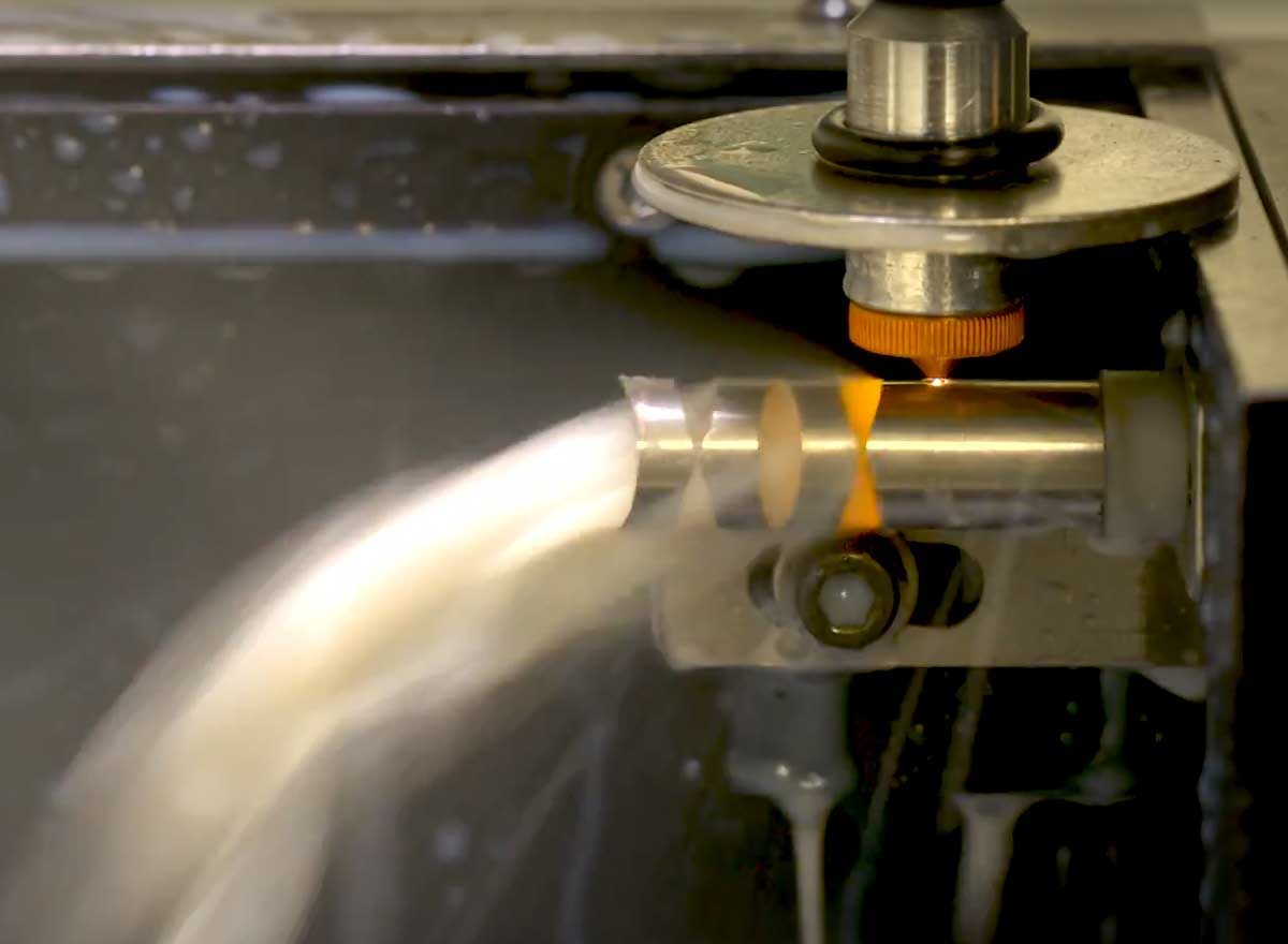 Okay Industries provides expertise in laser tube cutting for medical devices.